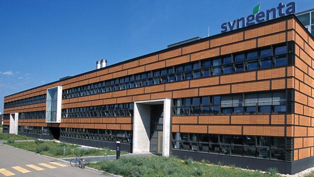 Das Forschungszentrum Biologie in Stein ist einer der Hauptforschungsstandorte von Syngenta.