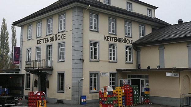 Das Partylokal Kettenbrücke in Aarau ist Geschichte.