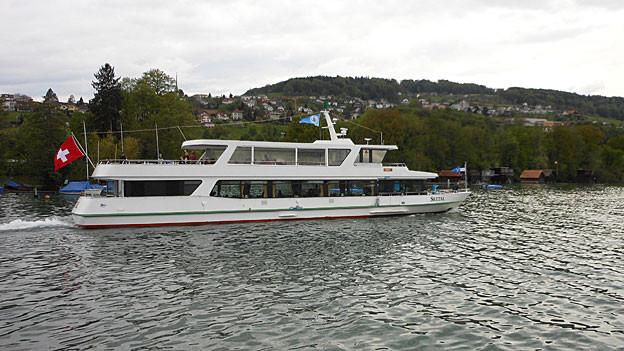 Die MS Seetal, das neuste Schiff der Schiffahrtsgesellschaft Hallwilersee, transportierte viele Passagiere diesen Sommer.