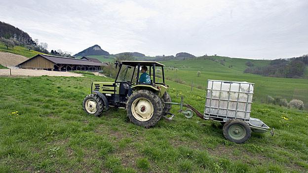 Die Aargauer Bauern sollten 2013 etwas mehr verdienen als im Vorjahr. Die Solothurner Bauern rechnen mit weniger.