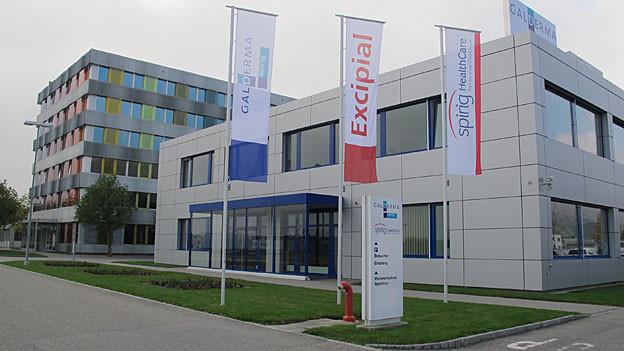 Der neue Hauptsitz der Vertriebsfirma Galderma Spirig Pharma in Egerkingen.
