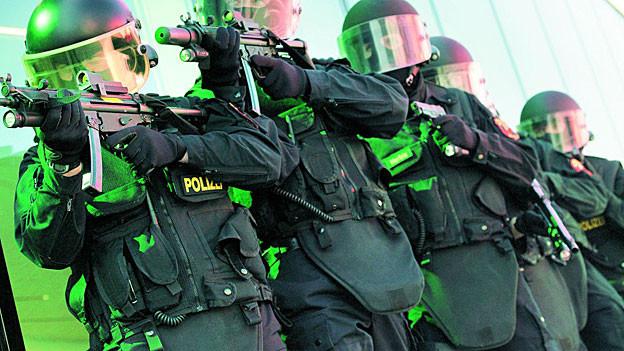 Spezialeinheit Argus der Aargauer Kantonspolizei.