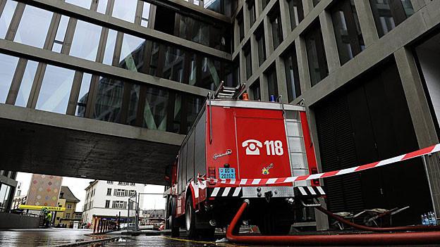 Der Brand im Campus-Gebäude verursachte einen Sachschaden von 30 Millionen Franken.