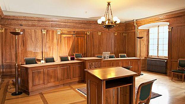 Hier im Bezirksgericht Bremgarten findet der Prozess wegen fahrlässiger Tötung gegen den Lehrer statt.