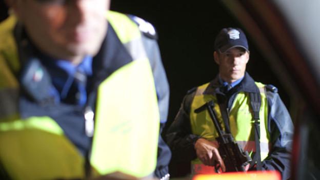 Die Polizei führt im ganzen Kanton gezielte Kontrollen durch im Kampf gegen Einbrecher.