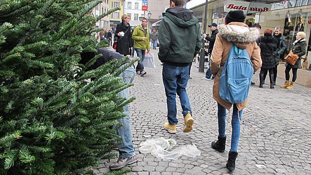 Sonntagsverkauf in Aarau – es war gemütlich.