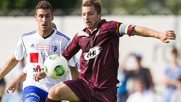 2 Verträge, ein Arbeitgeber: FC Wohlen Mann Wellington (links)