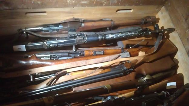 Es wurden hauptsächlich alte Gewehre abgegeben