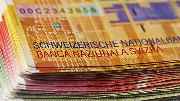 Die fehlende Gewinnausschüttung der Nationalbank hat Konsequenzen für die Kantonsfinanzen.