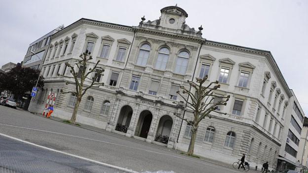 Sitz des Obergerichts in Solothurn.  Drei Angeklagte müssen sich vor dem Obergericht verantworten.