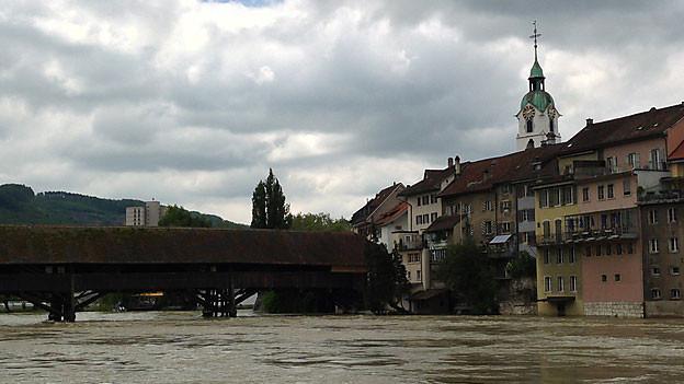 Schwarze Wolken über Olten: Die Stadt greift zum Rotstift.