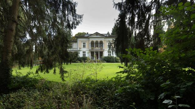 Eine der Villen im Gönhardquartier: Auch sie wurde von der Stadt Aarau saniert und aufgewertet.
