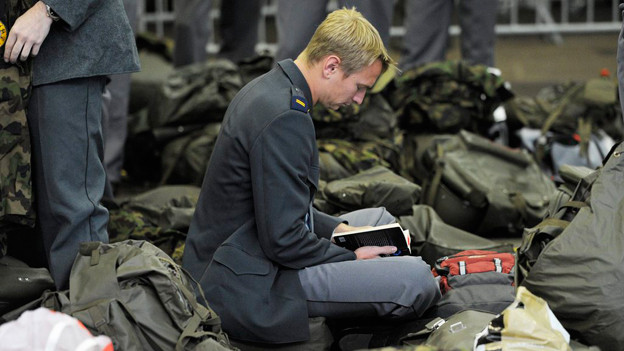 Wer nimmt die Soldaten auf? Die Gemeinde Sarmenstorf such nach privaten Unterkünften.