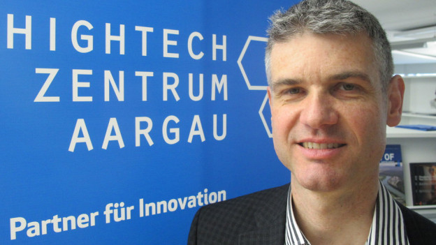 «Wir sind auf Kurs», sagt Martin Bopp, Geschäftsführer des Hightech Zentrums Aargau.
