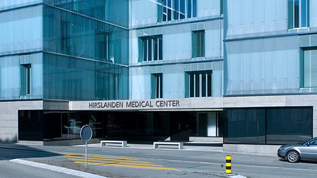 Die Hirslanden-Klinik in Aarau