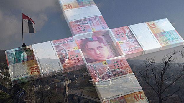Im Jahr 2013 musste sich die Stadt Baden wegen grosser Investitionen verschulden.