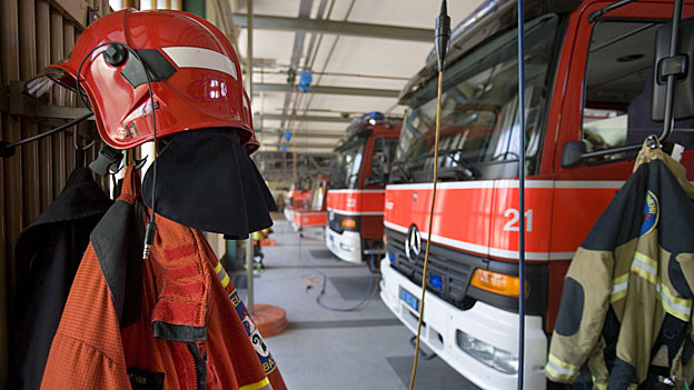 Beim Brand in der historischen Altstadt von Laufenburg waren 120 Feuerwehrleute im Einsatz. Verletzt wurde niemand.