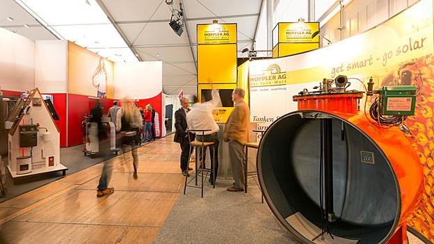 Über 20'000 Besucher haben die 9. Bau- und Wohnmesse Wettingen besucht.