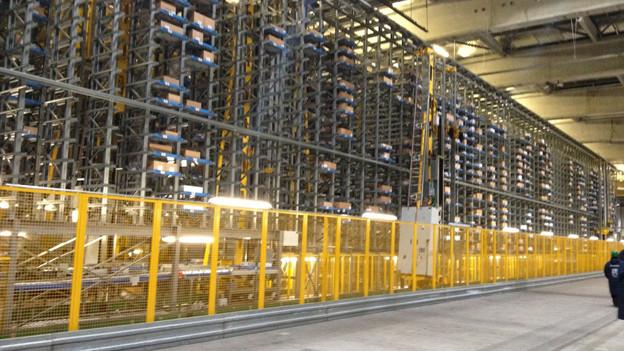 Das Tiefkühllager der Migros dient als Energiespeicher