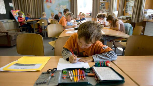 Von der Entschlackung des Lehrplan 21 sollen auch die Schüler profitieren