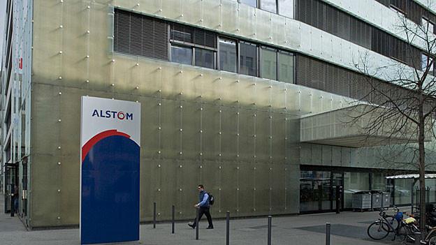 Alstom-Gebäude in Baden.