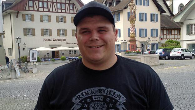 Patrick Räbmatter, 187 cm gross und 140 Kilo schwer
