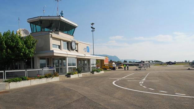 Flughafengebäude Grenchen