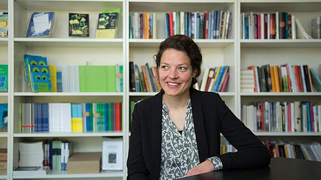 Reina Gehrig, Gesamtleiterin der Solothurner Literaturtage, freut sich auf die 36. Ausgabe.