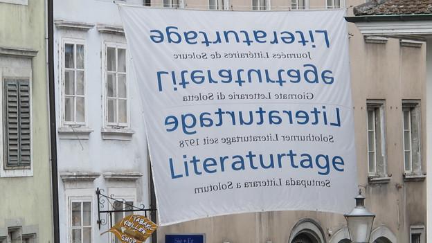 Die 36. Solothurner Literaturtage starten am Freitag.