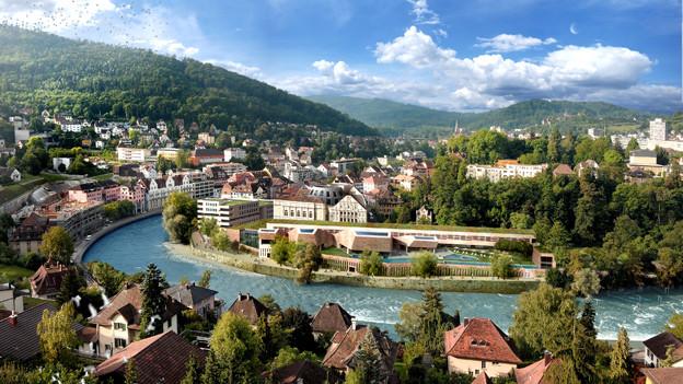Credit Suisse steigt bei Bäderquartier-Projekt aus.
