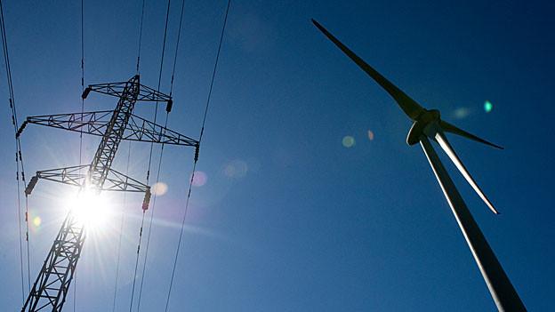 Ab August kann die Bevölkerung von Grenchen sagen was sie vom Windpark auf dem Grenchenberg hält.
