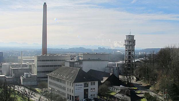 Das Attisholz-Areal Riedholz gilt als Topstandort für neue Firmen. «Hauptstadtregion Schweiz» will hier neue Firmen ansiedeln.