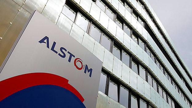 Alstom-Sitz in Baden