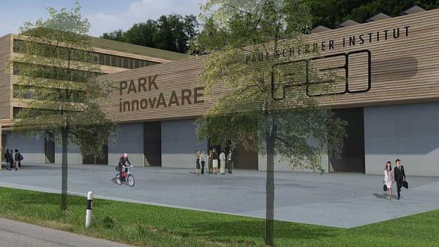 So soll der Forschungs-Park Innovaare aussehen