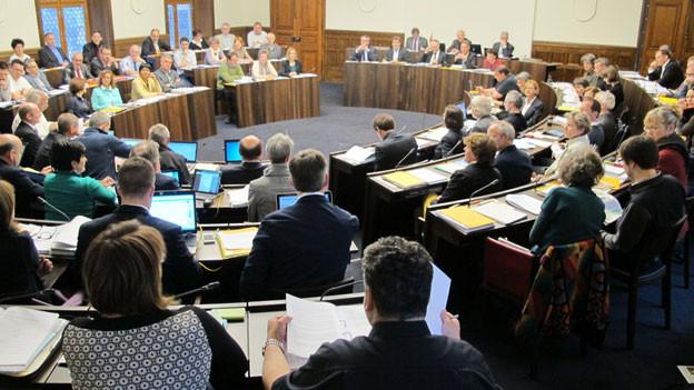 Der Kantonsrat spart intensiv