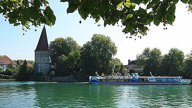 Die Kursschiffe fahren auf der Aare bei Solothurn ab Freitag nicht mehr.