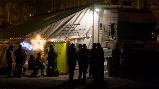 Die Aargauer Regierung unterstützt einen Pfuusbus, wie derjenige in Zürich
