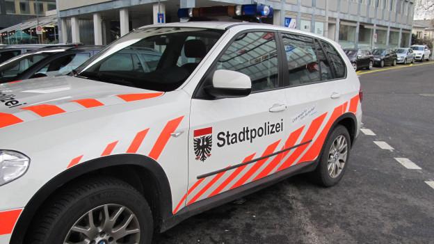 Polizeiauto der Stadtpolizei Aarau.