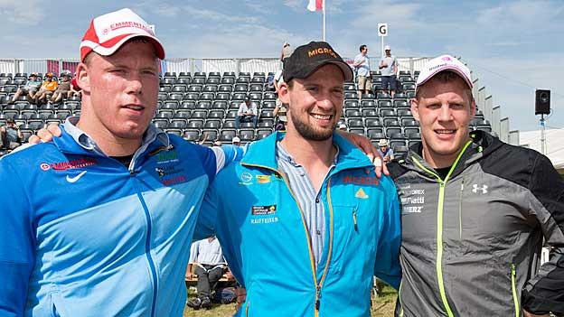 Gleich 3 Sieger am Weissenstein-Schwinget