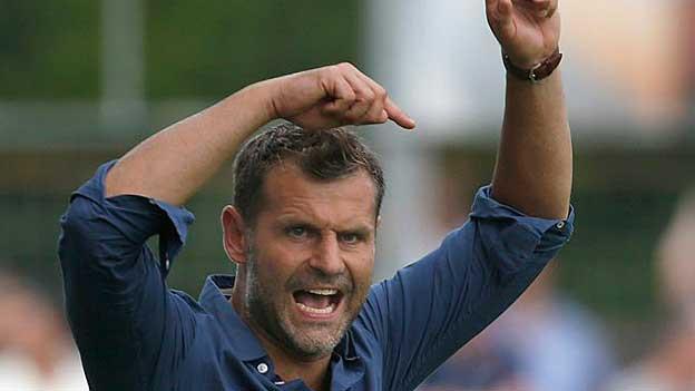 FC Aarau-Trainer Sven Christ