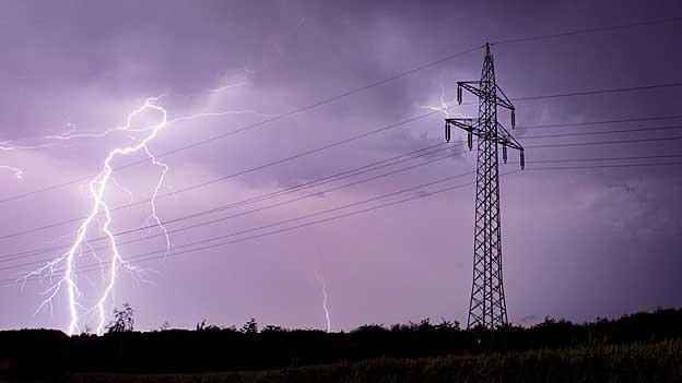 Gewitter führt in Rheinfelden zu Stromausfall