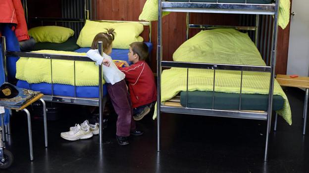 Der Kanton kann in Brugg Asylsuchende unterbringen, sagen die Richter in Lausanne.