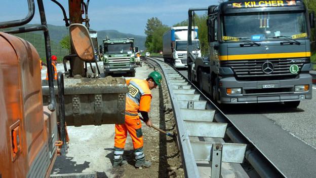 Ende August ist auf der A1 fertig gebaut – zumindest vorläufig