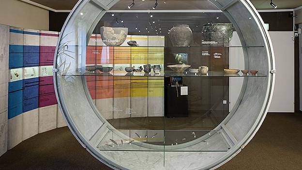 Einen Blick in die archäologische Dauerausstellung.
