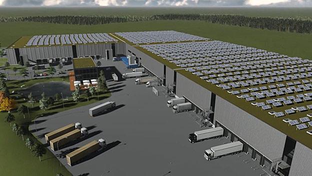 Derendingen erhält ein neues Logistikzentrum mit 220 Arbeitsplätzen.