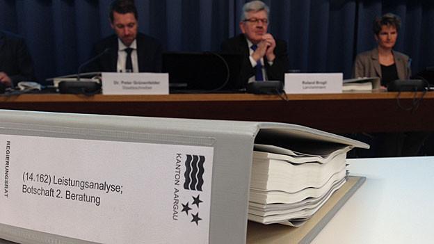 Das Aargauer Sparpaket und die damit verbundene Leistungsanalyse wird noch für einige Diskussionen sorgen.