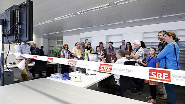Aarau: Tag der offenen Tür im SRF-Studio