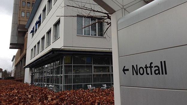 Das Kantonsspital Aarau ist die nächsten zehn Jahre eine Baustelle.