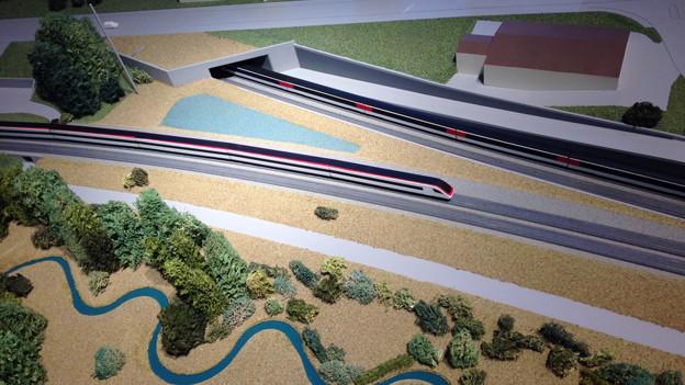 Die ersten Arbeiten für den Eppenbergtunnel starten demnächst.