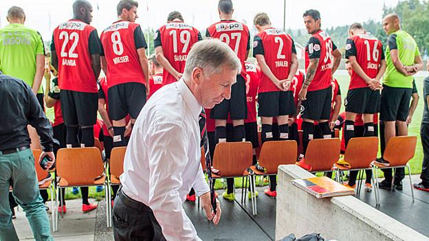 Die Verantwortlichen des FC Aarau machen Druck.